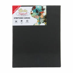 Rafaelo feszített festővászon, 2x3,3 cm, 40x50 cm, fekete