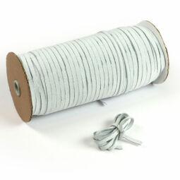 Gumiszalag, 6 mm - fehér