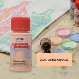 Art Creation textilfesték világos anyagra - 2506 Pastel orange