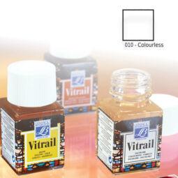 Vitrail gyantaalapú üvegfesték, 50 ml - színtelen