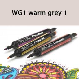 ProMarker kétvégű alkoholos filctoll - WG1, warm grey 1
