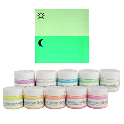 UnikromGlow világító festék, 30 g - lime