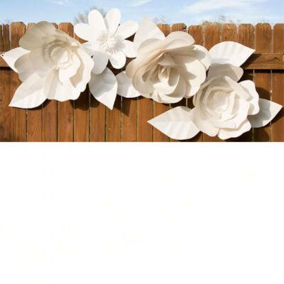 Original papír, struktúrált, elegáns, 50x70 cm - 30 pearly white, gyöngyfehér