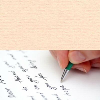 Original papír, struktúrált, elegáns levélpapír, A4 - 25 salmon pink, lazacrózsaszín