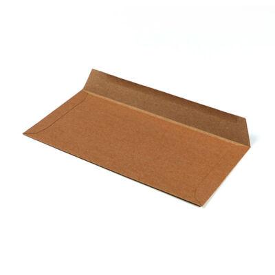 Boríték, francia, 11x22 cm - natúrpapír, 160 g