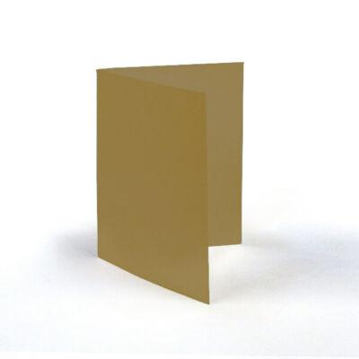 Paszpartu kártya, teli, A6 - olívzöld, 2 részes