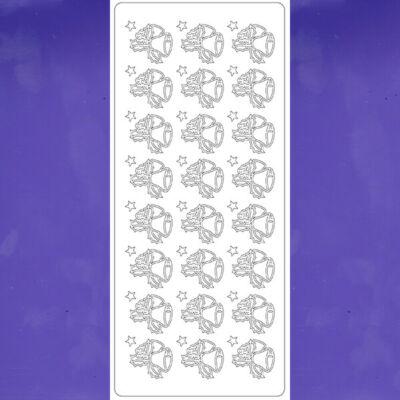 Kontúrmatrica - mini harangok, középlila, 1607 - AKCIÓS