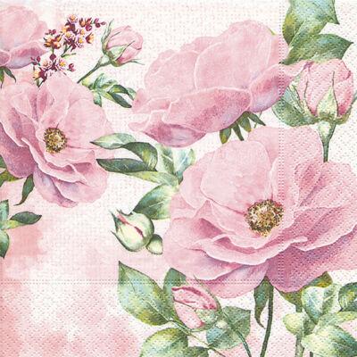 Szalvéta - Rózsakert (r)