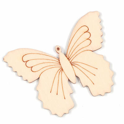 Fafigura - Pillangó nagy fadísz