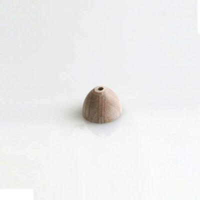 Félgömb alakú üreges fagyöngy - 10x7,5 mm