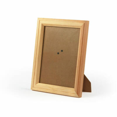 Fa képkeret, téglalap, díszes - 23,5x18,5x1,6 cm (18,5x13 cm)