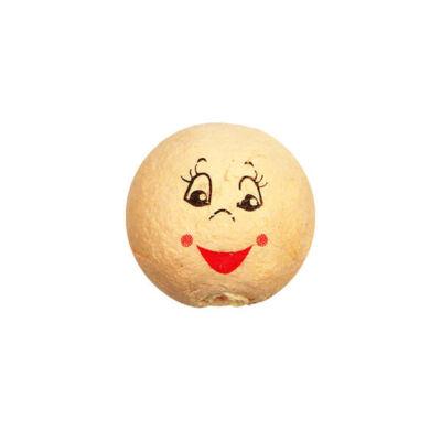 Préseltpapír fej - Babafej, nevető, gömbölyű, 2,5 cm