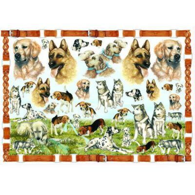 Esprimo decoupage papír - kutyák