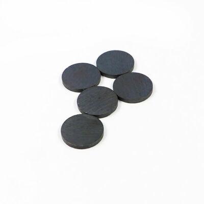 Kerek mágnes - 25 mm, 5 db