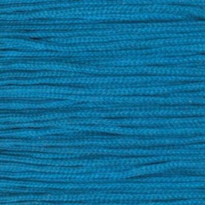 Ékszerzsinór, 0,5 mm vékony, méterben - 57, türkiz