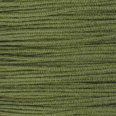 Ékszerzsinór, 0,5 mm vékony, méterben - 65, olivzöld