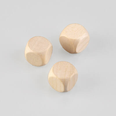 Fa dobókocka - 2 cm