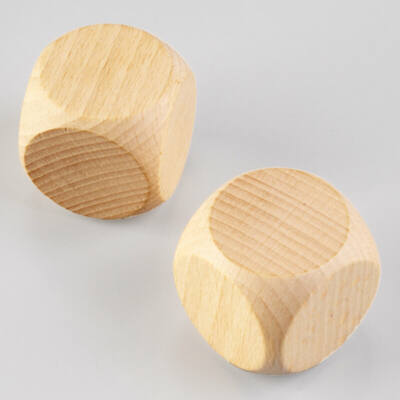 Fa dobókocka - 4 cm