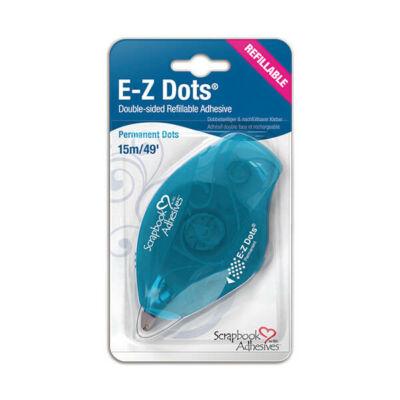 E-Z Runner - ragasztó roller - átlátszó ragasztó pöttyök