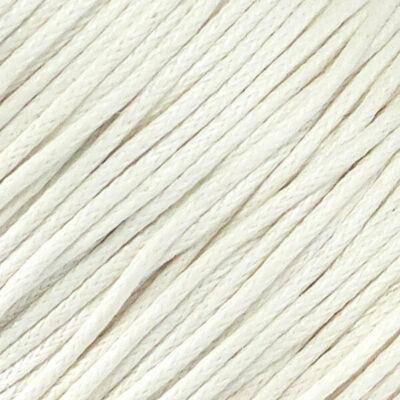 Viaszolt szál, 1 mm-es méterben - 101 fehér