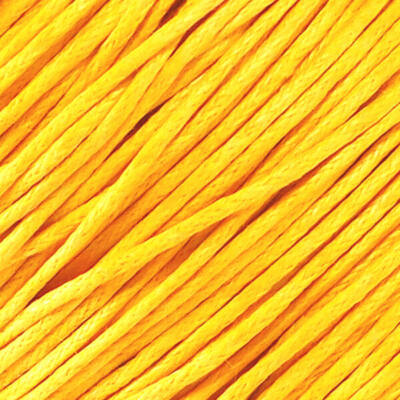 Viaszolt szál, 1 mm-es méterben - 167 citromsárga