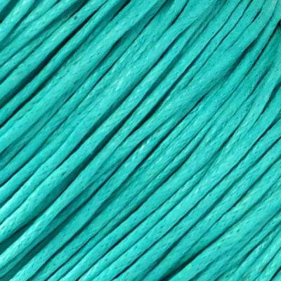 Viaszolt szál, 1 mm-es méterben - 247 türkiz