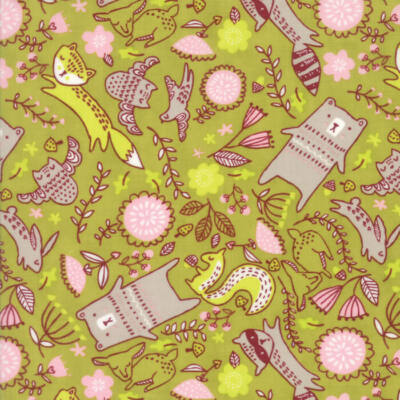Akció! Patchwork anyag - Moda - Just Another Walk in the Woods 20523-18