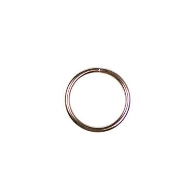 Fém alapkarika, ezüst, álomfogó - 2,5 cm