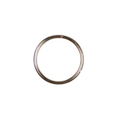 Fém alapkarika, ezüst, álomfogó - 3,2 cm