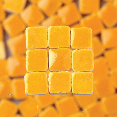 MosaixMini mázas kerámiamozaik 5x5x3mm - 08 sárga