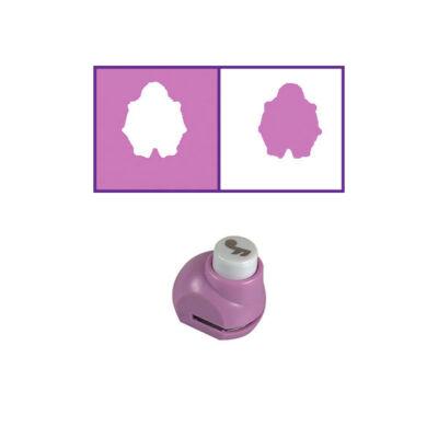 Mintalyukasztó, 0,8 cm - katica