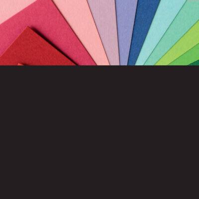 Fotókarton, 50x70 cm - 90, fekete