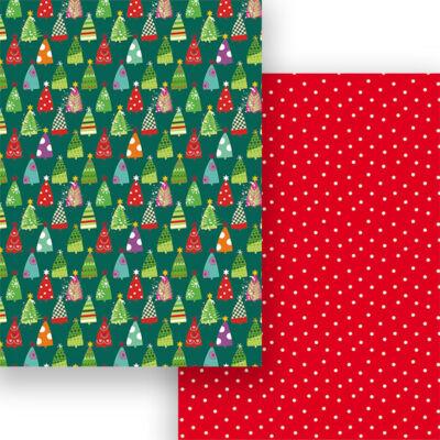Fotókarton, A4 - karácsonyfa