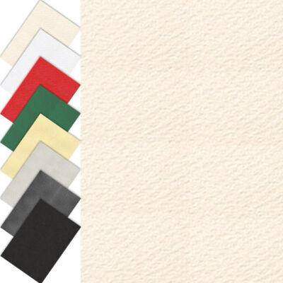 Akvarellkarton, A4, 220 g - 01, törtfehér