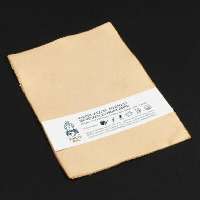 Merített papír, művészeti, 200 g, A4, 5 db - antikolt