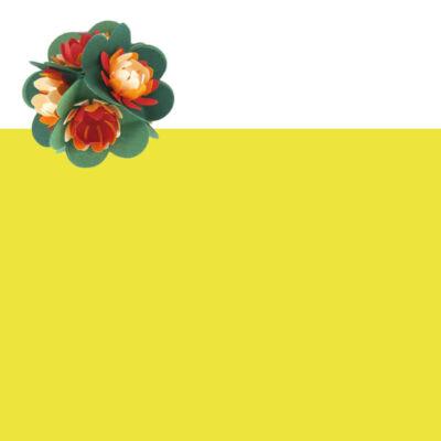 Tónuspapír, 50x70 cm - 13, citromsárga