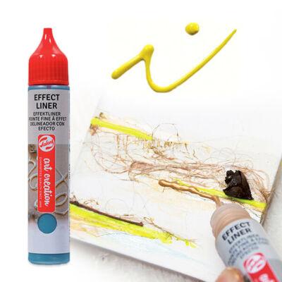 Art Creation Effect Liner, univerzális 3D festéktoll, 28 ml - 2002 Bright yellow
