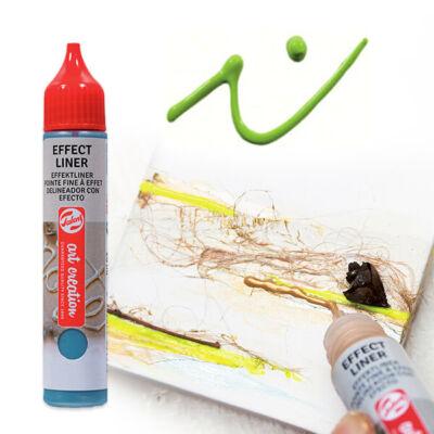 Art Creation Effect Liner, univerzális 3D festéktoll, 28 ml - 6034 Fresh green
