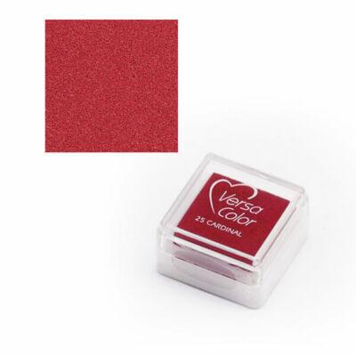 Pecsételőpárna, Versa Color - piros, 25 cardinal