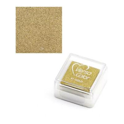 Pecsételőpárna, Versa Color - arany, 91 gold