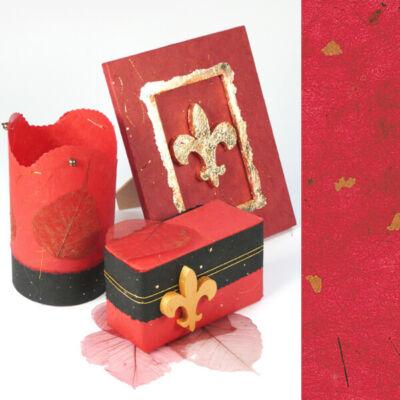 Golden Star rostpapír, 50x70 cm - piros, 35 g