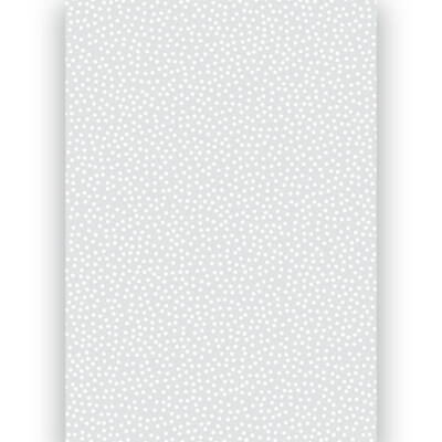 Transzparens papír, A4 - Pöttyös, fehér
