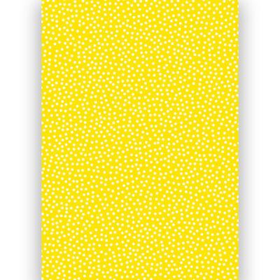 Transzparens papír, A4 - Pöttyös, sárga