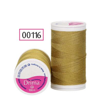 Drima varrócérna, polyester, 100 m - 00116