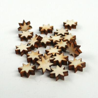 Fafigura csomagban - Mini csillag, 20 db