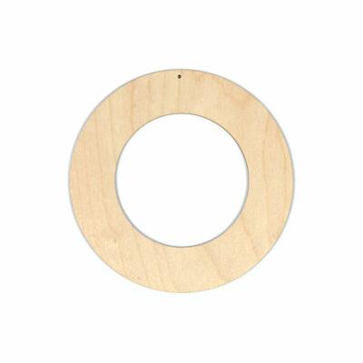 Fafigura, akasztható - Koszorú alap, nagy, 15 cm