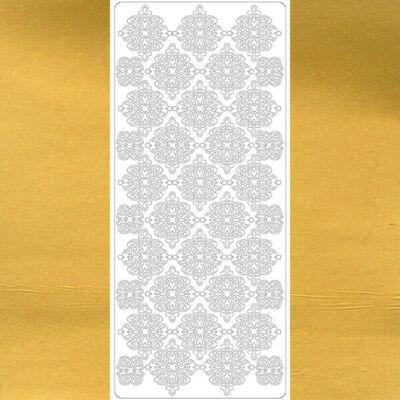 Kontúrmatrica - ornament, arany, 7112