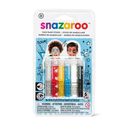 Snazaroo arcfestő kréta - fiúknak