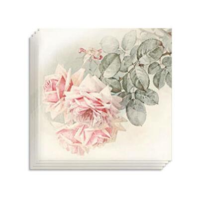 Szalvéta csomag, Sagen - Kinyílt rózsaszálak