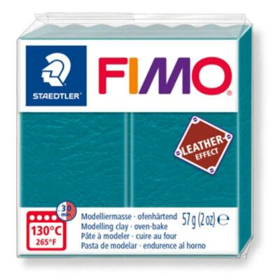 FIMO Leather Effect süthető gyurma, 57 g - laguna (8010-369)